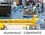 computer motherboard creative...   Shutterstock . vector #1186496455