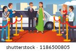 rich   beautiful superstar... | Shutterstock .eps vector #1186500805