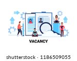 business people hr searching... | Shutterstock .eps vector #1186509055