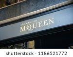 milan  italy   september 21 ... | Shutterstock . vector #1186521772