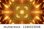 abstract kaleidescopic club... | Shutterstock . vector #1186523038