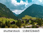a view of steg a small village... | Shutterstock . vector #1186526665