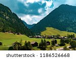 a view of steg a small village... | Shutterstock . vector #1186526668