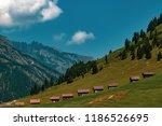 a view of steg a small village... | Shutterstock . vector #1186526695