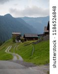 a view of steg a small village... | Shutterstock . vector #1186526848