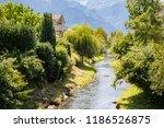 the oberaukanal flowing through ... | Shutterstock . vector #1186526875