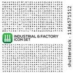 industrial and factory vector... | Shutterstock .eps vector #1186571512