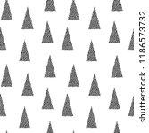 seamless vector christmas... | Shutterstock .eps vector #1186573732
