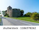 beautiful architecture at vaduz ... | Shutterstock . vector #1186578262