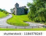 beautiful architecture at vaduz ... | Shutterstock . vector #1186578265