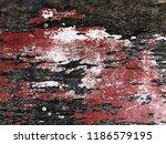vintage wood panel grunge dry... | Shutterstock . vector #1186579195