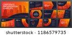 powerpoint presentation... | Shutterstock .eps vector #1186579735