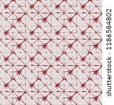 japanese kimono vector seamless ... | Shutterstock .eps vector #1186584802