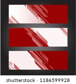 red geometric texture... | Shutterstock .eps vector #1186599928