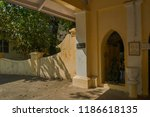 06 nov 2008 porch of parsi... | Shutterstock . vector #1186618135