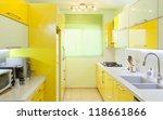 modern design kitchen with... | Shutterstock . vector #118661866