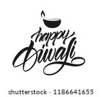 handwritten elegant... | Shutterstock .eps vector #1186641655