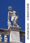 venice  italy   may 28   statue ... | Shutterstock . vector #1186651048