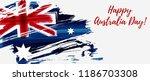 happy australia day. holiday...   Shutterstock .eps vector #1186703308