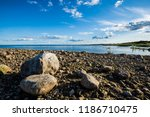 a view of the lake from the... | Shutterstock . vector #1186710475