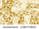 geometric rumpled triangular... | Shutterstock .eps vector #1186713832
