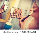 contouring face kit  visage and ...   Shutterstock . vector #1186732648