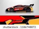 design  race  vehicle  vector ... | Shutterstock .eps vector #1186748872