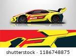 design  race  vehicle  vector ... | Shutterstock .eps vector #1186748875