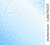 falling snow background. vector ... | Shutterstock .eps vector #1186750225