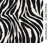 zebra  pattern  vector... | Shutterstock .eps vector #1186764442