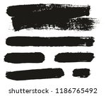 paint brush background   lines... | Shutterstock .eps vector #1186765492