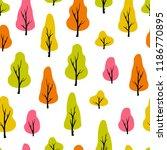 vector abstract seamless... | Shutterstock .eps vector #1186770895