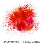 colorful paint stains.paint... | Shutterstock .eps vector #1186793002