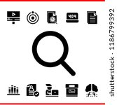 search icon set. search student ... | Shutterstock .eps vector #1186799392