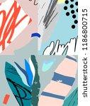 creative art background.... | Shutterstock .eps vector #1186800715