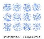 critical thinking  self... | Shutterstock .eps vector #1186813915