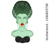The Bride Of Frankenstein Girl...