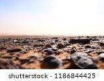 beautiful stony brown desert... | Shutterstock . vector #1186844425