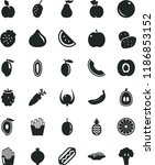 solid black flat icon set hot...   Shutterstock .eps vector #1186853152