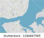 vector city map of lisbon with... | Shutterstock .eps vector #1186867585
