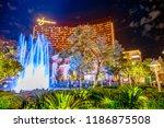 las vegas  nevada  united... | Shutterstock . vector #1186875508