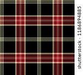 seamless tartan vector pattern | Shutterstock .eps vector #1186894885
