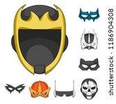 vector illustration of hero and ... | Shutterstock .eps vector #1186904308