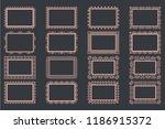 elegant lace borders frames...   Shutterstock .eps vector #1186915372