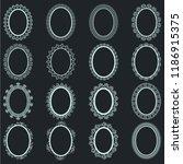 elegant lace borders frames...   Shutterstock .eps vector #1186915375