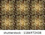 paisleys elegant floral raster... | Shutterstock . vector #1186972438