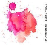 colorful abstract watercolor... | Shutterstock .eps vector #1186974028