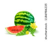 fresh  nutritious and tasty... | Shutterstock .eps vector #1186986235