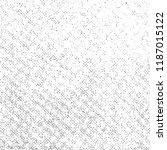 grunge texture on white... | Shutterstock .eps vector #1187015122