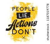 inspirational quote  motivation.... | Shutterstock .eps vector #1187019778